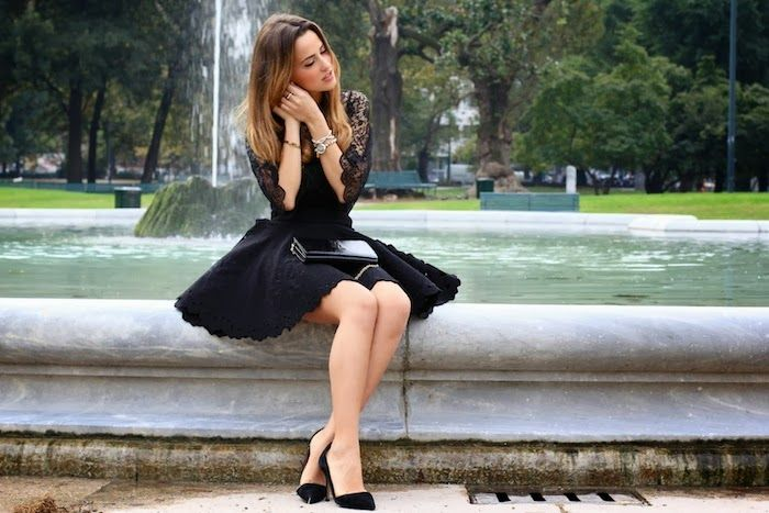 Gresy for Queriot Jewels blogger fashion beautiful moda italy jewellery luxury design art black dress