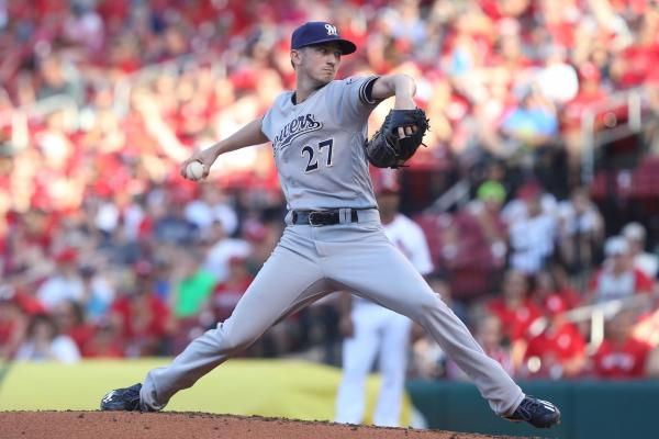 ST. PETERSBURG, Fla. -- Zach Davies pitched seven innings of one-hit baseball and the Milwaukee Brewers shut out the Tampa Bay Rays for the…