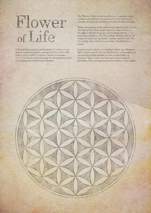 Flower of life  -> Great tools for light-workers.. Flower of Life T-Shirts, V-necks, Sweaters, Hoodies