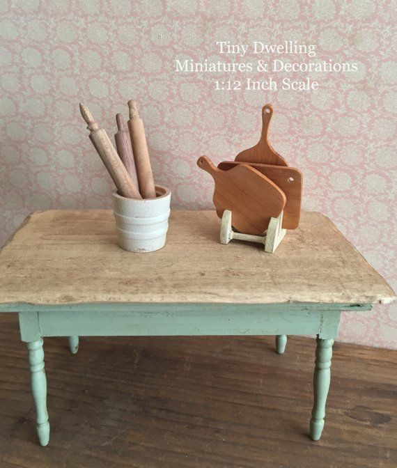 Miniature Kitchen Utinsels. OH MY! Simply Amazing Tiny