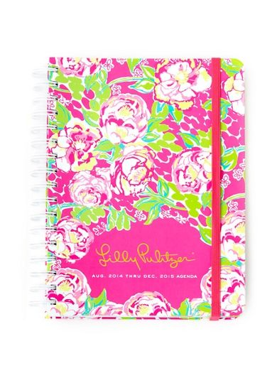 Lilly Pulitzer Large Agenda in Lilly Lovers