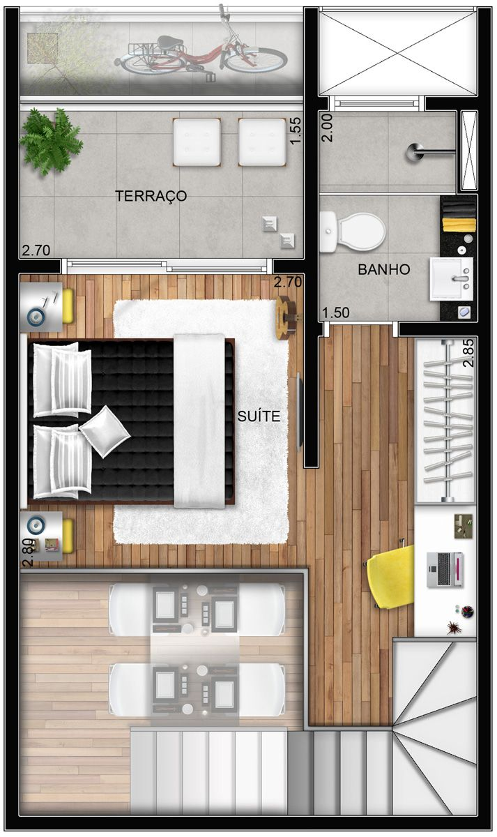 Layout - duplex 2 - superior