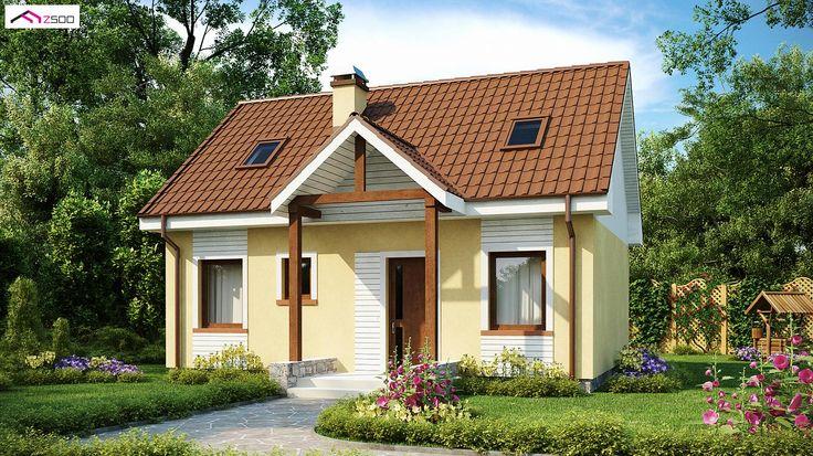 Z32 to wyjątkowy dom z kategorii projekty domów jednorodzinnych