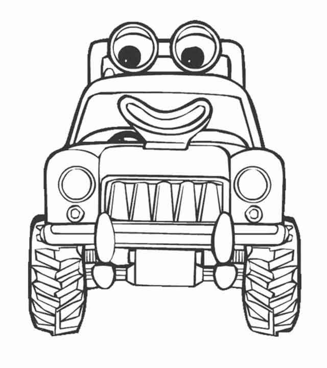 10 Best Free Printable Blippi Coloring Pages For Kids In 2020 Tractor Coloring Pages Coloring Pages Truck Coloring Pages