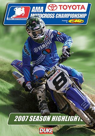 AMA Motocross Championship 2007 Season Highlights DVD 159 Min. Duke Video 2215NV