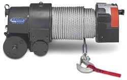 Action can customize your custom upfit with Ramsey Winches. With line pull ratings from 3,000 to 9,000 lbs and a robust worm gear design that provides load reversing protection, this winch gets the job done every time. For more information regarding the Ramsey Winch line of winches please call our sales team at 800-330-1229 or - See more at: http://actionfabrication.com/equipment/winches/#sthash.SOkhXHJi.dpuf