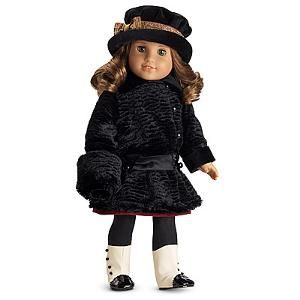 Rebecca's Winter Coat - includes Muff. Hat is sold as part of Rebecca's Accessories