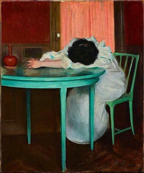 Tired - Ramon Casas