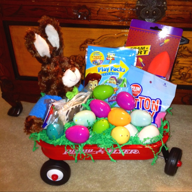 26 best easter images on pinterest cooking food dessert recipes toddler easter gift wagon creative negle Images