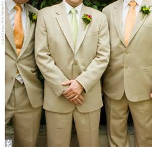 Image detail for -... grey suit to tan suit brings the wedding formality down just a notch