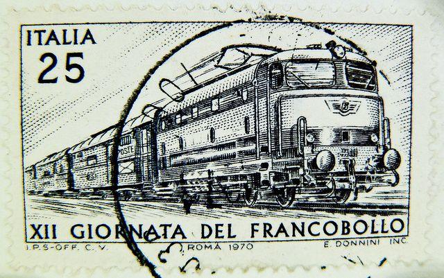 Francobollo ferroviario - 1970