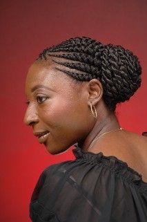 Phenomenal 1000 Images About Black Hair Braid Styles On Pinterest Goddess Short Hairstyles Gunalazisus