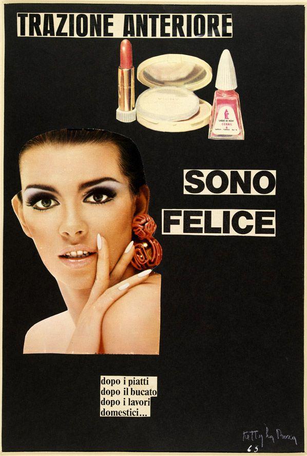 Ketty La Rocca - Trazione anteriore, 1965. Mart, Archivio Tullia Denza www.mart.tn.it/collezioni