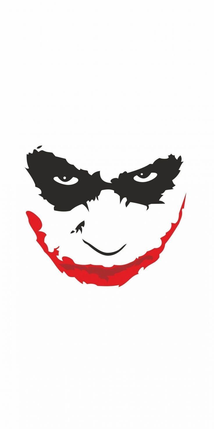 Wondrous Wallpaper Joker S Face Minimal 10802160 Wallpaper Batman Joker Wallpaper Joker Drawings Joker Face