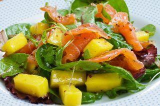 RICETTE INSALATE -Insalata di Mango e Salmone | Le Ricette dei Sogni