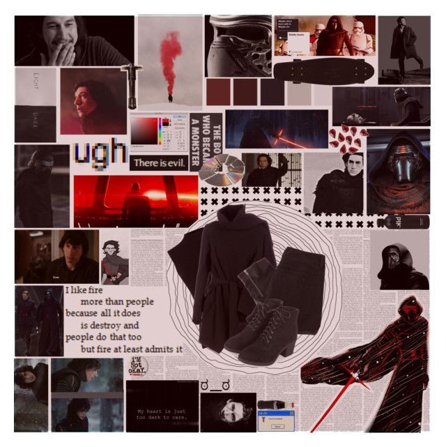 """""""a buddy of mine saw kylo ren take his shirt off in the shower, and he said that kylo ren had an 8-pack, that kylo ren was shredded 