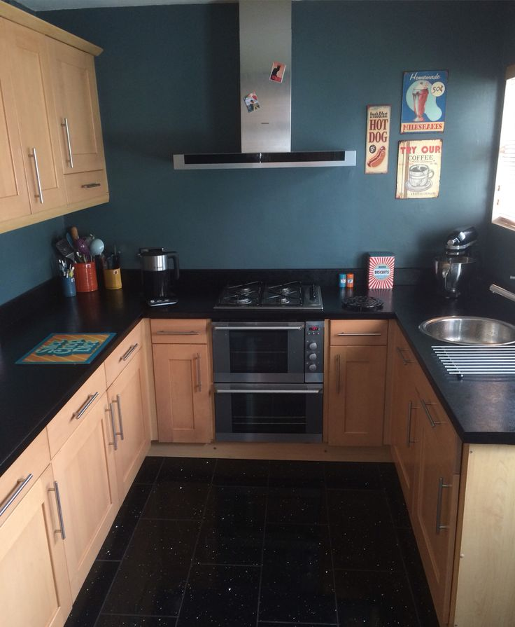 Teal Kitchen Oak Cabinets: 247 Best Images About My Farrow & Ball Colour Love Fest On