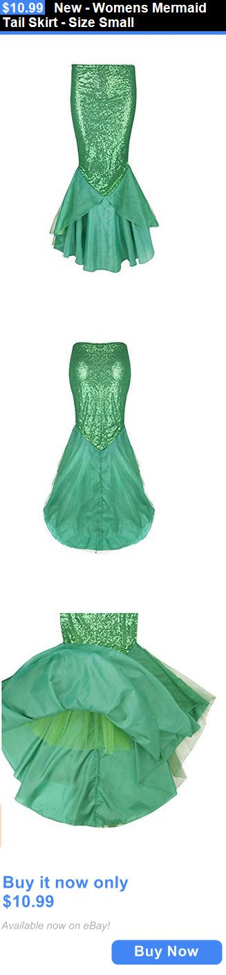 Women Costumes: New - Womens Mermaid Tail Skirt - Size Small BUY IT NOW ONLY: $10.99