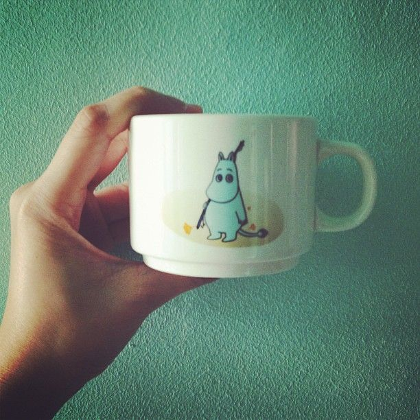 Moomin ceramic cup
