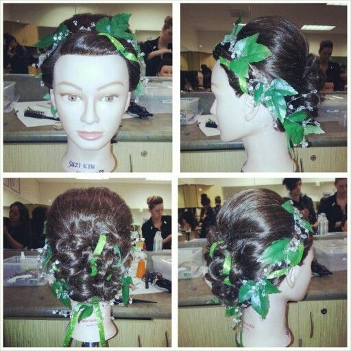 I'm calling her #ivy.. I did this for our class competition. So much fun being creative! #bellusacademy #cosmo103 #cosmostudent