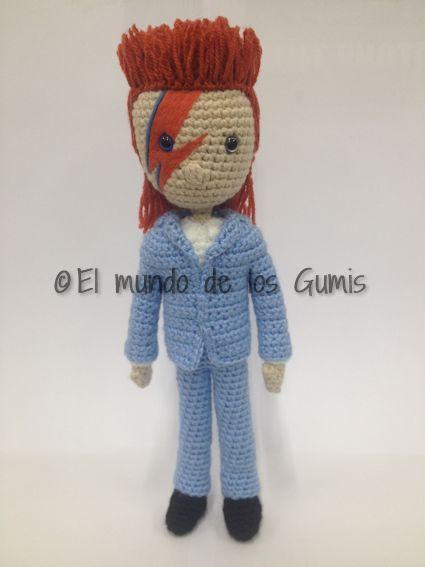 David Bowie. Creación propia