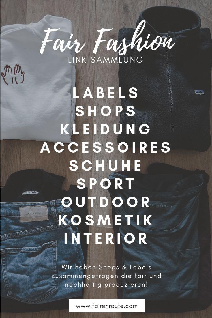 Fair Fashion Link Liste – Welche Labels sind grün und fair?