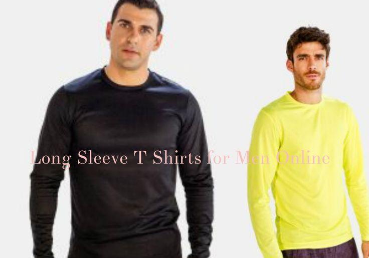 Buy the Best Performance Enhancing Long Sleeve #Tee #Shirt for Men Online