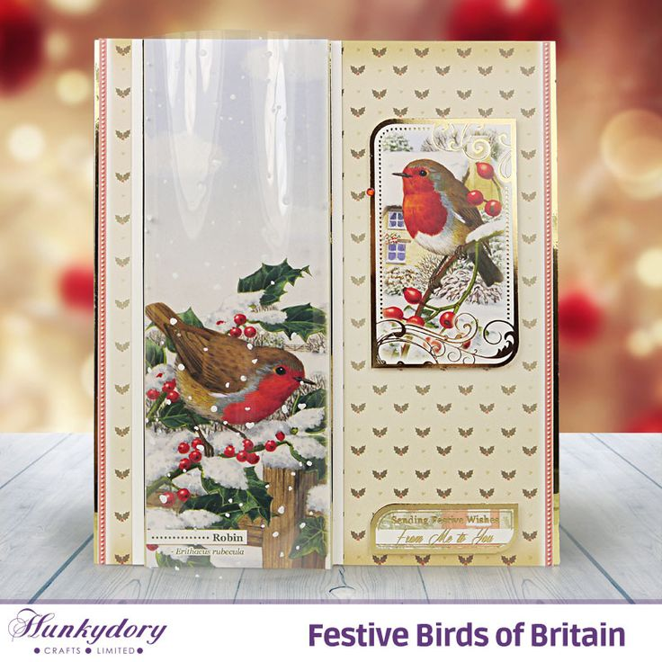 22 best Hunkydory cards images on Pinterest | Noel, Bird cards and ...