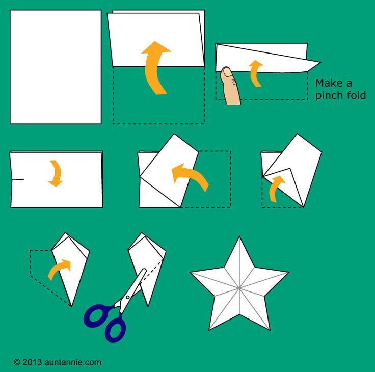82 best origami images on pinterest origami paper diy for How to make a big paper star