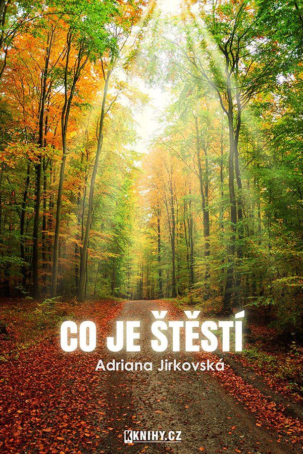 Obal pro knihu A. Jirkovské - Co je štěstí