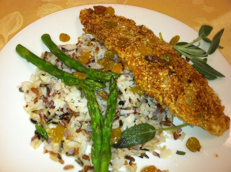 THIS ALMOND CRUSTED WALLEYE WITH GOLDEN RAISIN SAGE BEURRE NOISETTE WAS DELICIOUS! What makes this dish extra delicious is the Golden Raisin Sage Sauce or Golden Raisin Beurre Noisette. It couldn't be easier and you will not believe the great taste you will get from this simple process. I did not use Walleye but catfish. I really want...Read More »