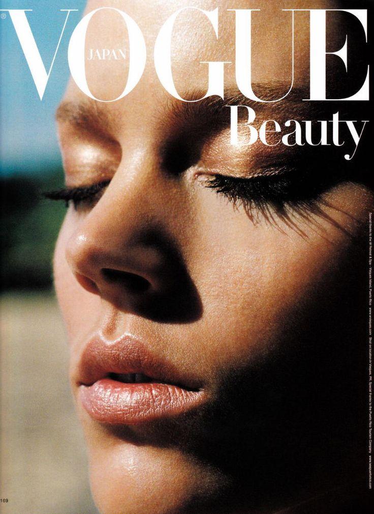 Freja Beha Erichsen by Alasdair McLellan for Vogue Japan July 2011 #Vogue #FrejaBehaErichsen #AlasdairMcLellan