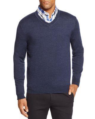 The Men's Store at Bloomingdale's Merino Wool V Neck Sweater | bloomingdales.com