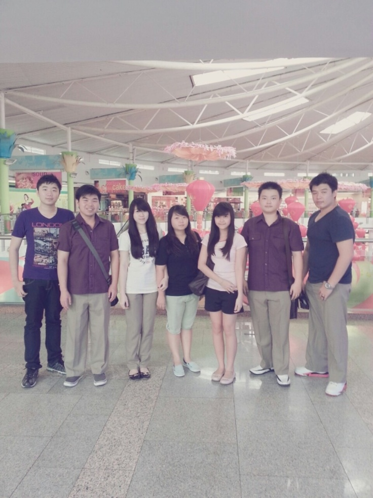 at ptc with my Friends