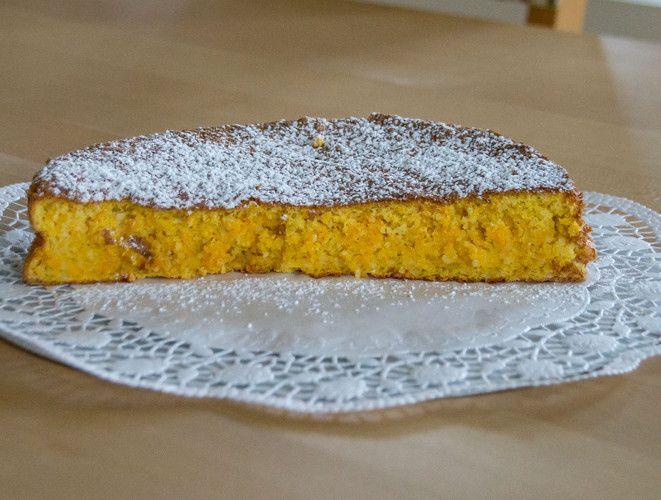 Gelbe Rüben Torte