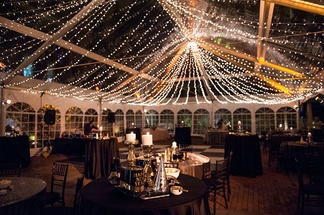 Brides: New Years Eve Wedding at Decatur House in Washington, DC: Photos