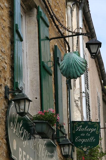 Auberge de la Coquille ~ Vézelay, Burgundy ~ France