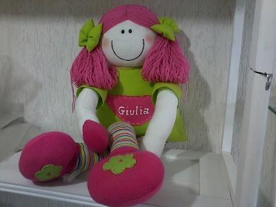 Boneca Pernuda Giulia