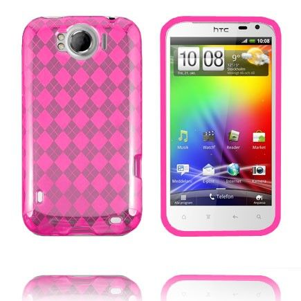 Tuxedo (Pink) HTC Sensation XL Cover