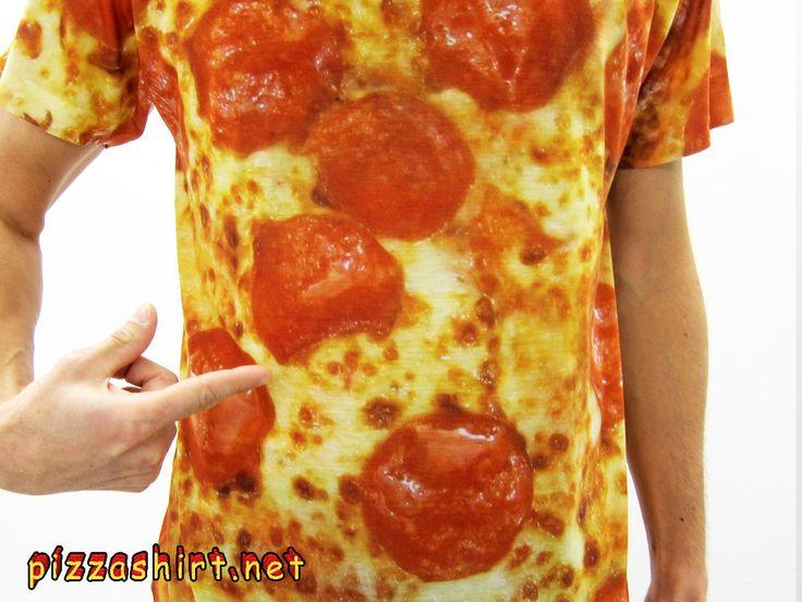 Pepperoni Pizza Shirt | Pizza Shirt