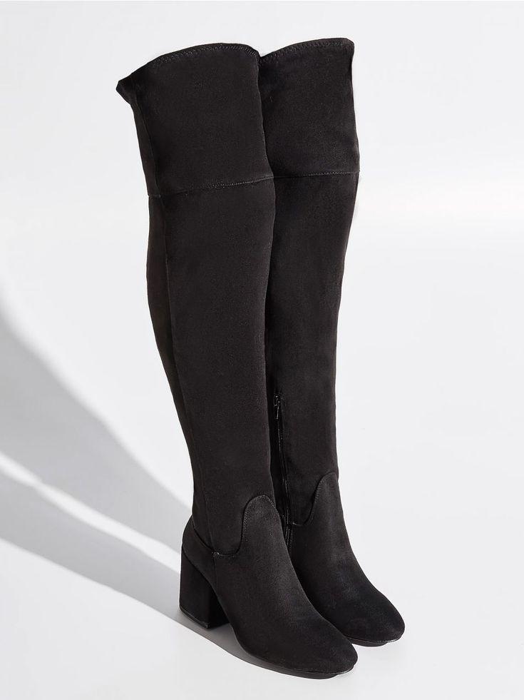 Dlugie Kozaki Czarny Ud311 99x Sinsay 2 Boots Long Boots Shoes