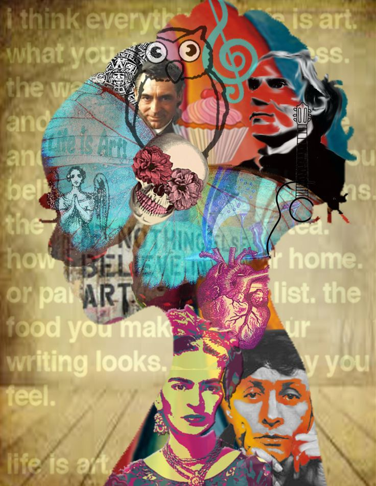 Bag Self Portrait – An Art Therapy Intervention