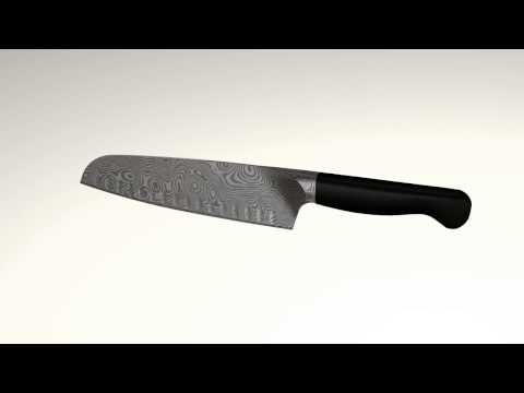 DAMASCUS BREAD KNIFE 200MM
