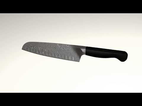 DAMASCUS BREAD KNIFE 200MM