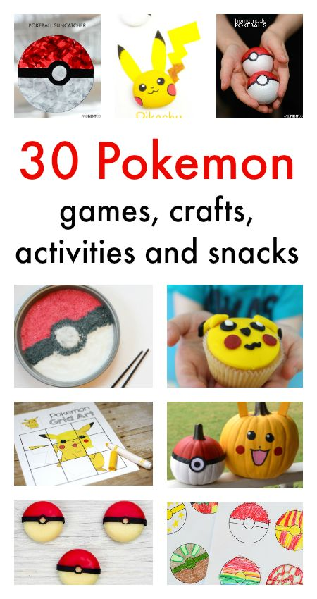 1000 images about all you need is here on pinterest for Pokemon crafts for kids