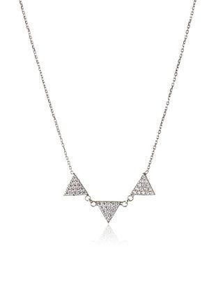 70% OFF Argento Vivo Silver Studded Spike Necklace