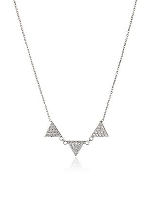 70% OFF Argento Vivo Silver Studded Spike Necklace