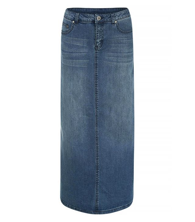 Shoptiques Maxi Denim Skirt