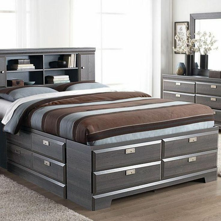 Best Cypres Queen Storage Bed Sears Sears Canada Beds 640 x 480