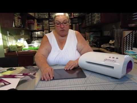 MICHELLE USES THE GEMINI DIE CUTTING MACHINE - YouTube